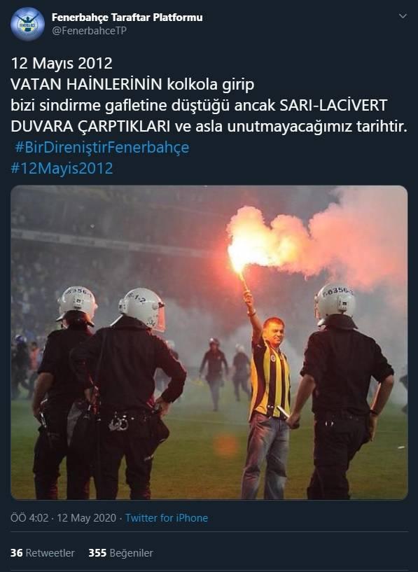12 Mayıs Fenerbahçe & Galatasaray Paylaşımları 1