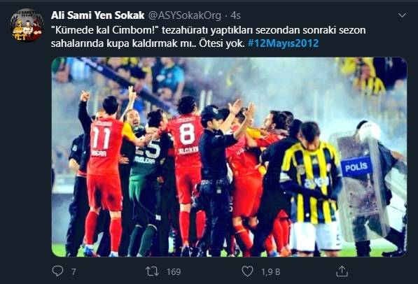 12 Mayıs Fenerbahçe & Galatasaray Paylaşımları 10