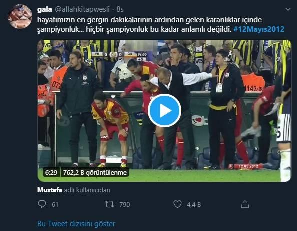 12 Mayıs Fenerbahçe & Galatasaray Paylaşımları 11