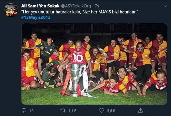 12 Mayıs Fenerbahçe & Galatasaray Paylaşımları 12