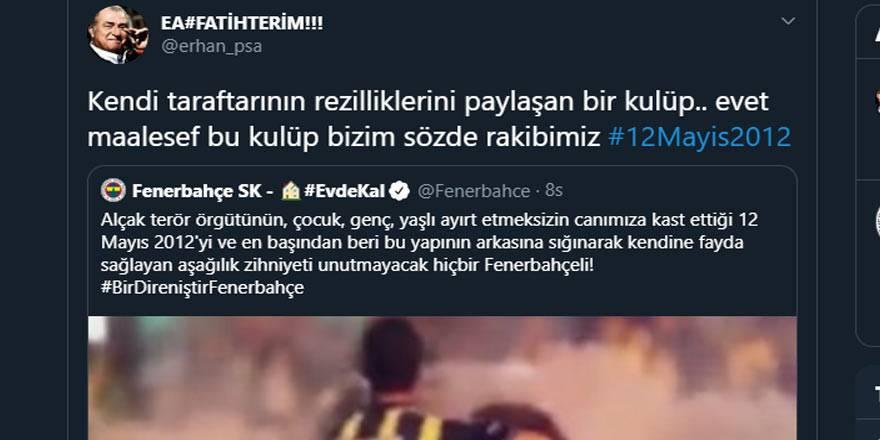 12 Mayıs Fenerbahçe & Galatasaray Paylaşımları 13