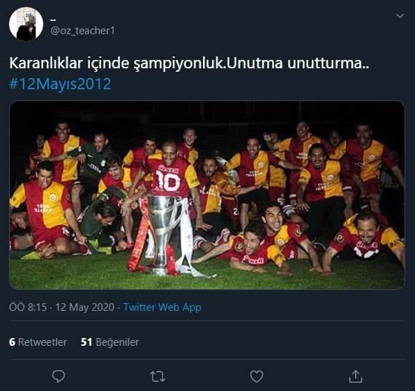 12 Mayıs Fenerbahçe & Galatasaray Paylaşımları 2