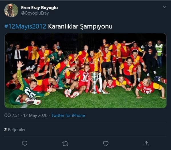 12 Mayıs Fenerbahçe & Galatasaray Paylaşımları 3