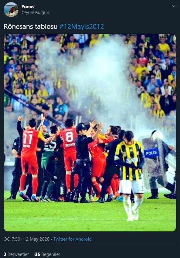 12 Mayıs Fenerbahçe & Galatasaray Paylaşımları 6