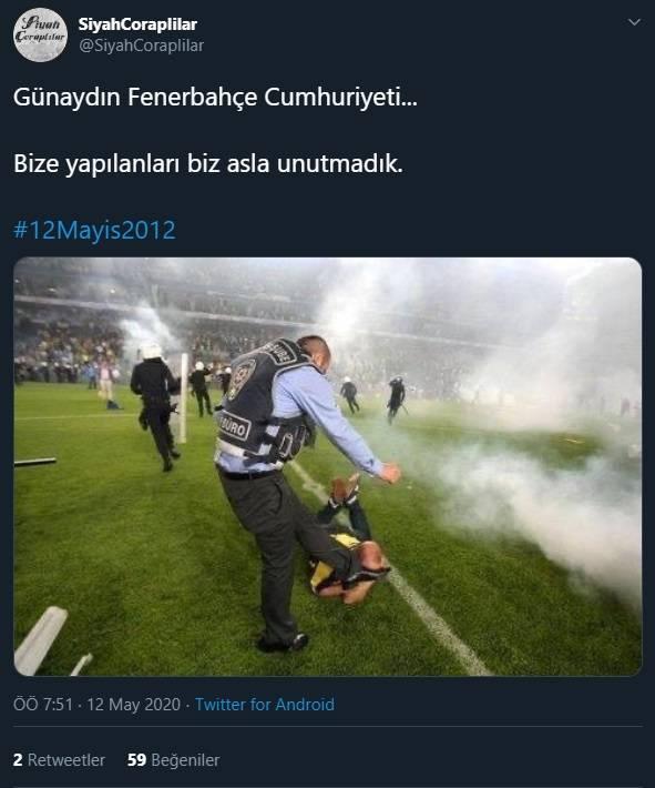 12 Mayıs Fenerbahçe & Galatasaray Paylaşımları 7