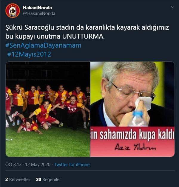 12 Mayıs Fenerbahçe & Galatasaray Paylaşımları 8