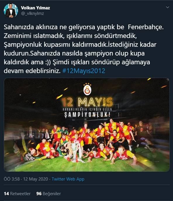 12 Mayıs Fenerbahçe & Galatasaray Paylaşımları 9
