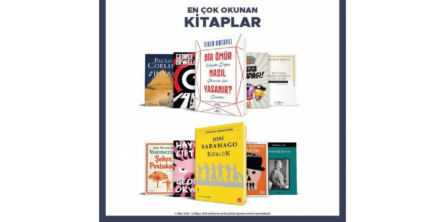 En çok okunan kitaplar! En çok kitap okuyan iller #TürkiyeOkuyor