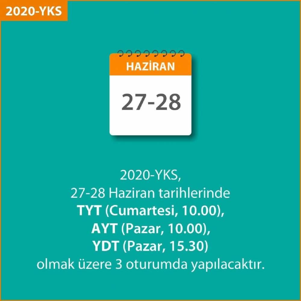 ÖSYM Başkanı Prof. Dr. Halis Aygün YKS açıklamasında bulundu! 5