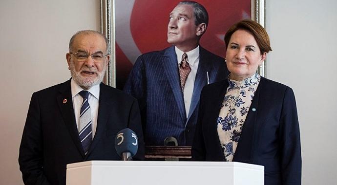 Saadet Partisi ve İYİ Parti Tezkere kararlarını açıkladılar