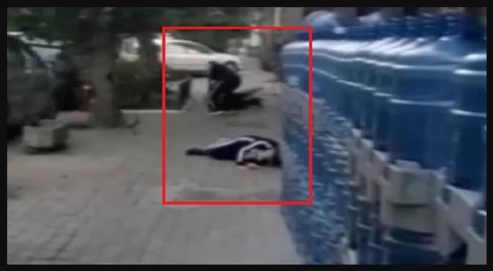 İzmir'de Dehşet Anları Kameraya Yansıdı