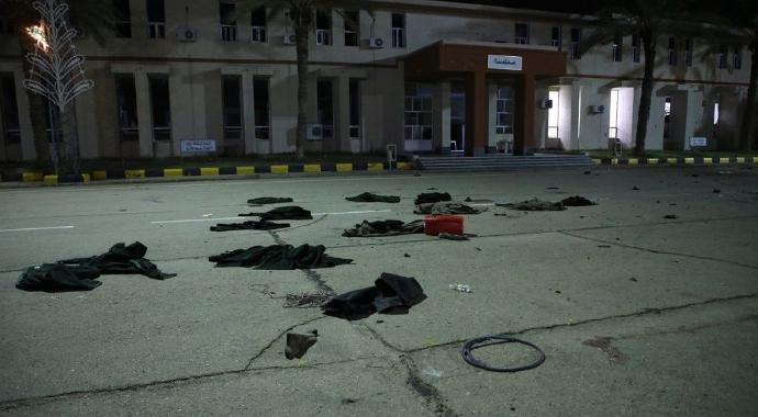 Trablus'ta askeri okula saldırı! 28 ölü, 18 yaralı