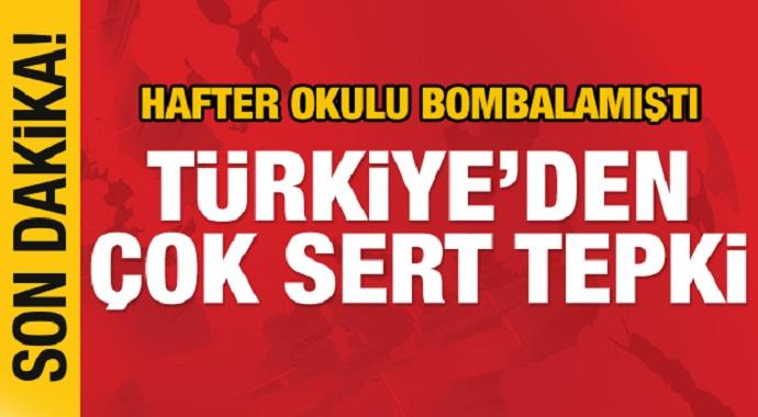 Son dakika: Hafter güçleri çizgiyi aştı! Türkiye'den çok sert tepki
