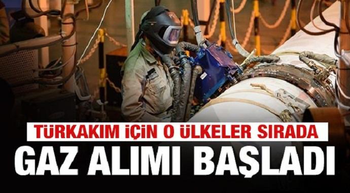 TürkAkım'da gaz sevkiyatı resmen başladı! ilk müşteriler belli oldu