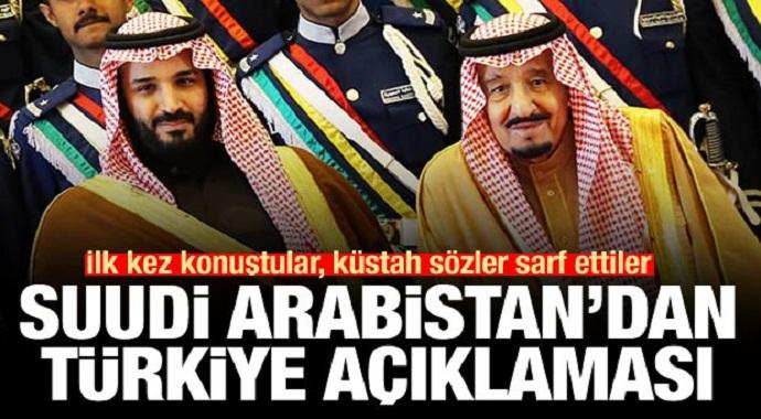 Son Dakika: Suudi Arabistan'dan küstah Türkiye açıklaması