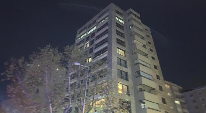 Kadıköy'de Apartmanda Çıkan Yangın Korkuttu
