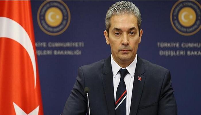 """Hami Aksoy'dan AB'ye: """"Hayal kırıklığı duyuyoruz"""""""
