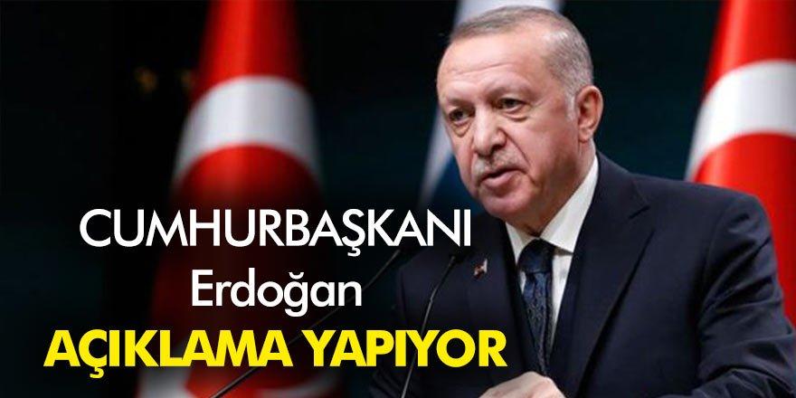 Cumhurbaşkanı Erdoğan kabine toplantısında açıklamalarda bulundu işte o toplantının satır başları