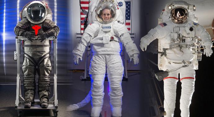 Kadın Astronotlardan Uzay Selfiesi