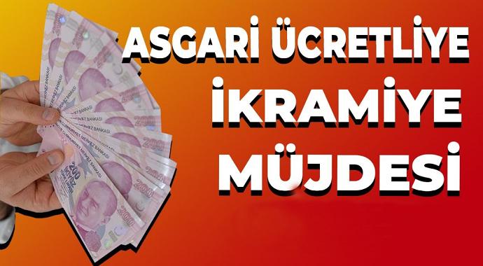 Asgari Ücretliye Erdoğan'dan 463 Lira Ek Ödeme