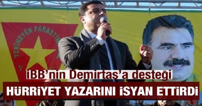 İstanbul Büyükşehir Belediyesi Demirtaş'ın kitabını satmaya başladı