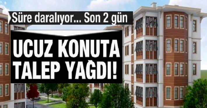 TOKİ 100 bin konut başvuruları 1 milyonu aştı!