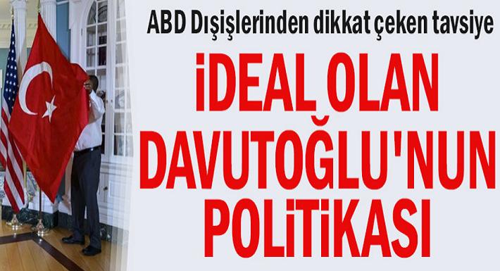 ABD Dışişlerinden dikkat çeken tavsiye... Türkiye ve ABD'nin daha dikkatli politikalar izlemesi gerekiyor!