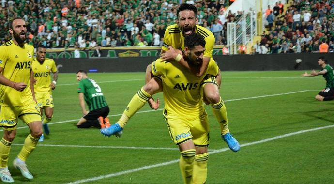 Fenerbahçe Denizlispor'u Affetmedi