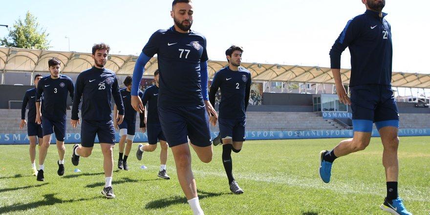 TFF 1. Lig temsilcisi Osmanlıspor dayanıklılık çalışmaları yaptı!