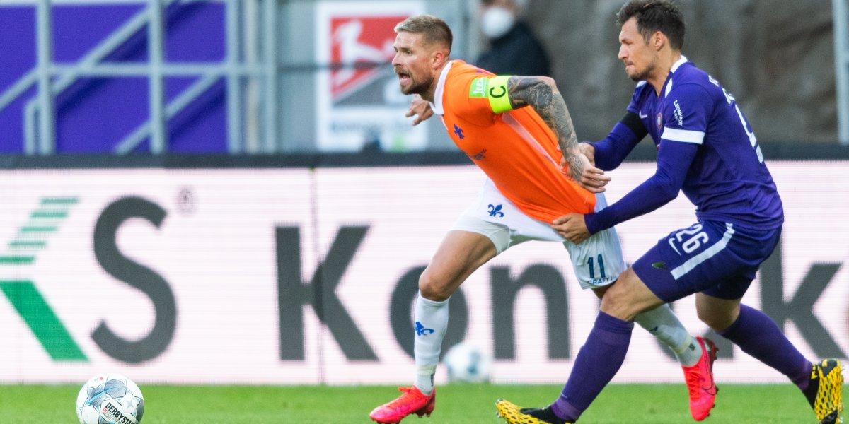 Almanya 2. Bundesliga: AUE: 1 - Darmstadt: 3 maç sonucu