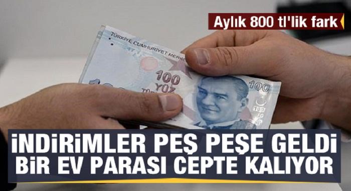 250 bin TL'lik fark Bir ev parası vatandaşta kaldı!