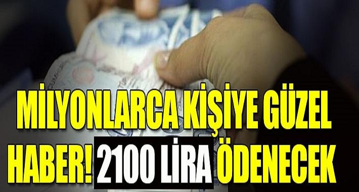 SGK masaya oturuyor Emekliye 2 bin 100 lira ek ödeme!