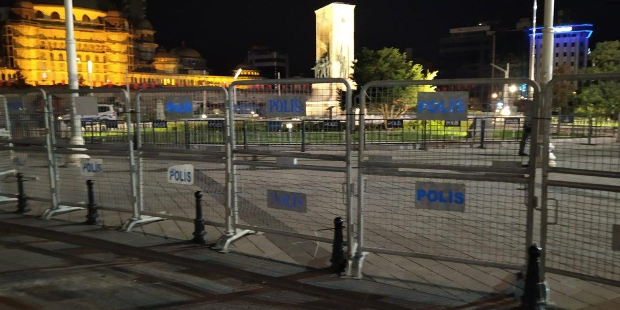 Taksim Gezi Parkı meydanı bariyellerle kapatıldı!