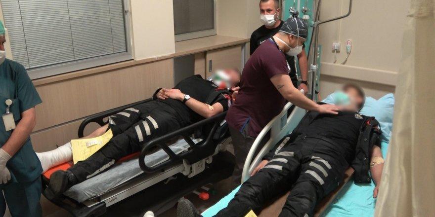 Son dakika: Kırıkkale'de silahlı kavga, 2'si polis 7 yaralı