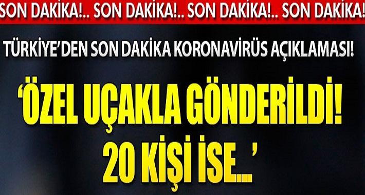 Türkiye'de Koronavirüsü alarmı!