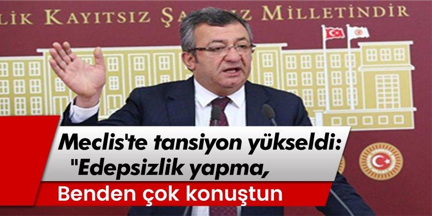 AKP'li Hakan Çavuşoğlu ile CHP'li Engin Altay'ın tartışmasına damga vuran anlarda şu diyaloglar yaşandı: