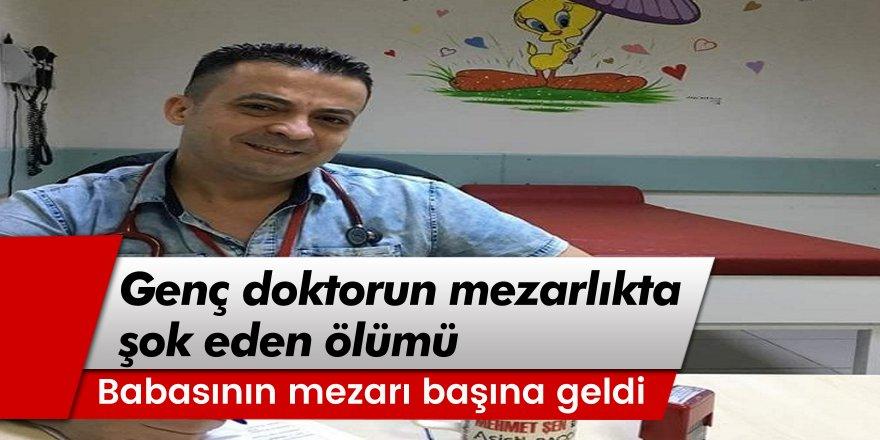 Bursa'da Çocuk doktorunun mezarlıkta şok eden ölümü