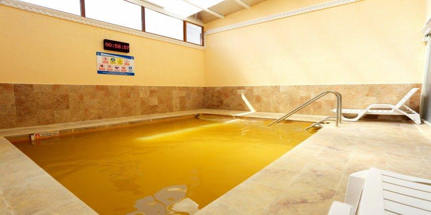 Erzincan'da pandemi nedeniyle kapanan kaplıcalar hizmette açıldı