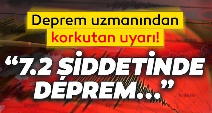 Uzman isimden İstanbul için deprem uyarısı! 7.2 şiddetinde deprem...