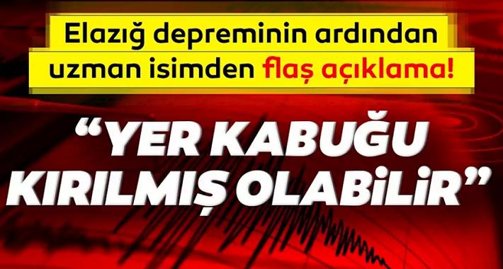 flaş uyarı! Türkiye deprem haritası ile Yer kabuğu kırılmış olabilir...
