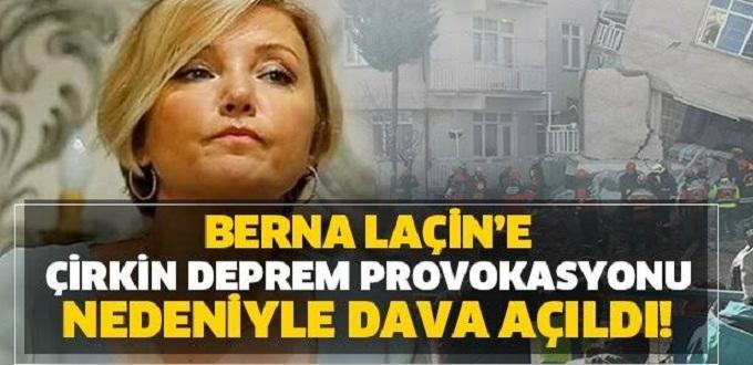 Paylaşımıyla tepki çeken Berna Laçin'e soruşturma açıldı