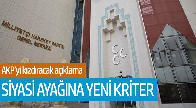 AKP'yi kızdıracak açıklama! Siyasi ayağına yeni kriter