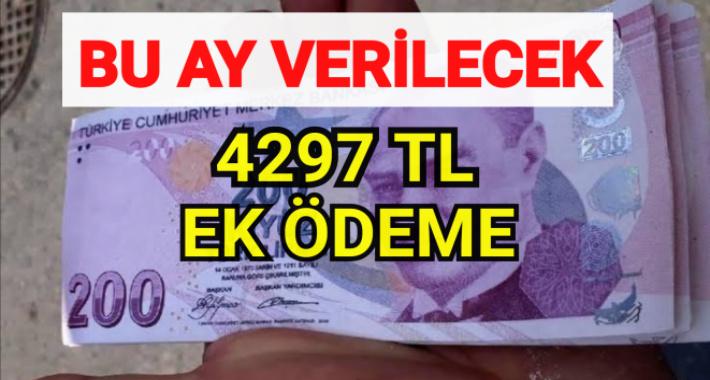 Milyonlara müjde! Asgari ücretliye 4297 ek ödeme! İşte 2020 tediye parası ödeme tarihi