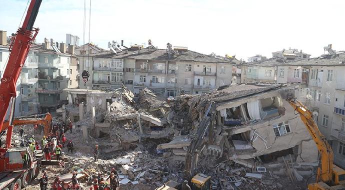 Elazığ'da 4,8 büyüklüğünde deprem