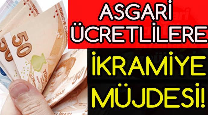 Erdoğan'dan Asgari Ücretliye  463 Lira Ek Ödeme