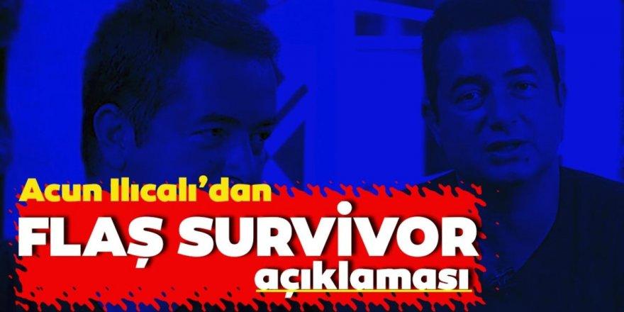 Survivor Son Gelişmeler: Acun Ilıcalı'dan Flaş Açıklama!