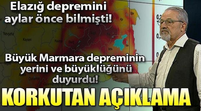 Marmara depremi nerede olacak? Prof. Dr. Naci Görür'den korkutan açıklama