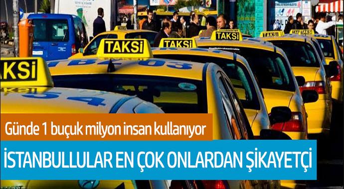 İstanbullular en çok onlardan şikayetçi! Günde 1 buçuk milyon insan kullanıyor
