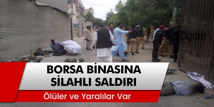 Pakistan Borsası'nın Karaçi'deki binasına silahlı saldırı: 2 ölü