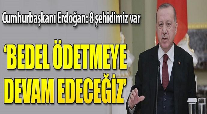 Erdoğan: İdlib'deki gelişmeler altından kalkılamaz bir duruma geldi